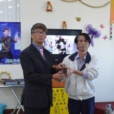 臺中市傳播媒體採訪記者協會新卸任理事長交接